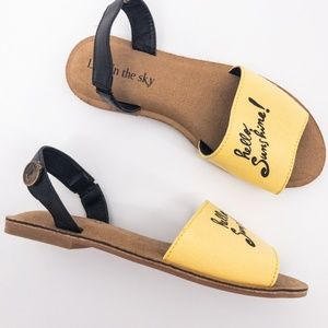 ModCloth : Hello Sunshine! Sandals Size 7